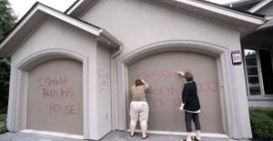 Vandalized property damage